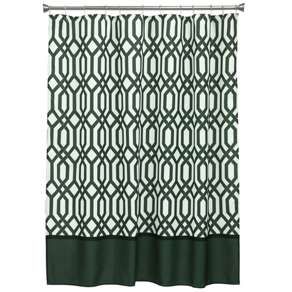 Theorem Fabric Shower Curtain
