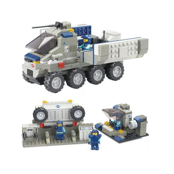 Sluban Interlocking Bricks Warfield Support Vehicle