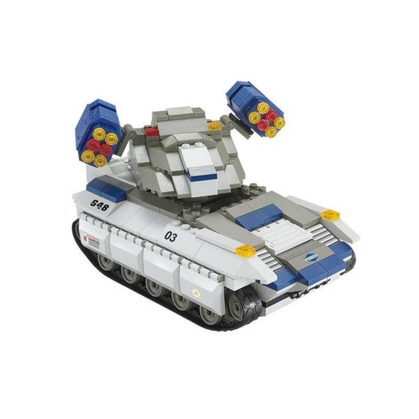 Sluban Interlocking Bricks Vulcan Missile Tank