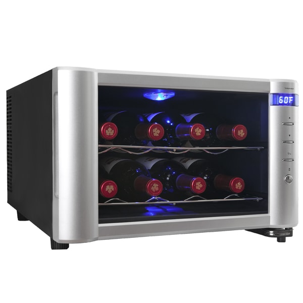 AKDY 8 Bottles Conter Top Temperature Control Refrigerator Single Zone Wine Cooler Cellar Chiller