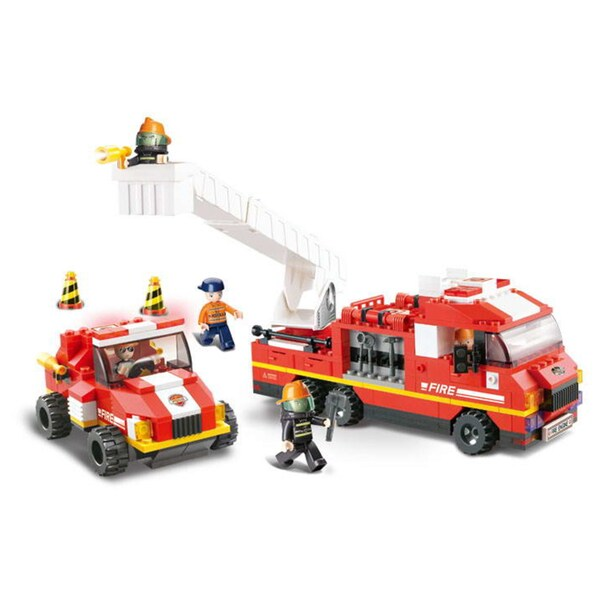 Sluban Interlocking Bricks Special Fire Brigade
