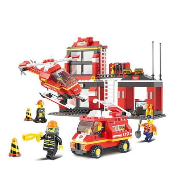 Sluban Interlocking Bricks Emergency Dispatch