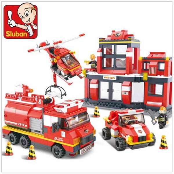 Sluban Interlocking Bricks Massive Rescue Mission