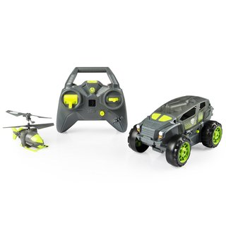 Spin Master Air Hogs Shadow Launcher Car Copter