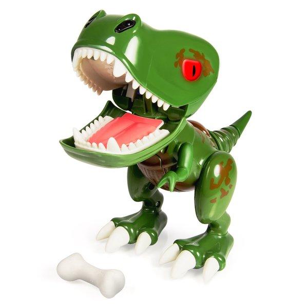 Spin Master Zoomer Chomplingz Green Z-Rex