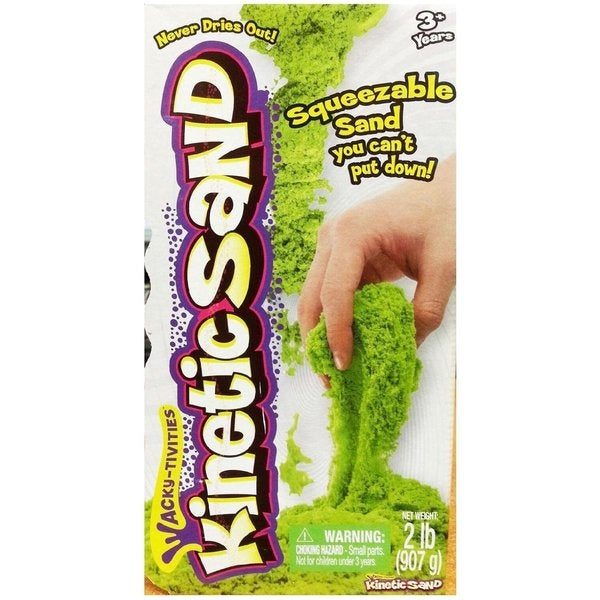 Spin Master Kinetic Sand 2 LB Neon Green