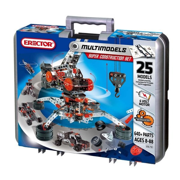 Spin Master Meccano-Erector Super Construction Set
