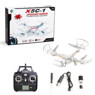 Gearonic X5C-1 Explorers 2.4Ghz RC quadcopter Drone with 2MP HD Camera