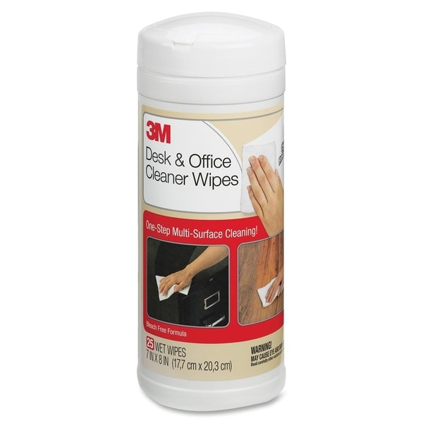 3M Desk & Office Cleaner Wipes - 1/EA