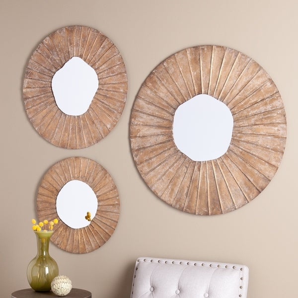 Upton Home Lana Decorative 3-piece Mirror Set
