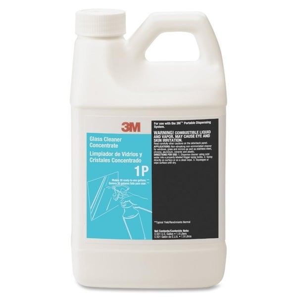 3M 1P Glass Cleaner Concentrate - 1/EA
