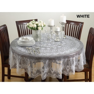 Vinyl Cutwork Tablecloth