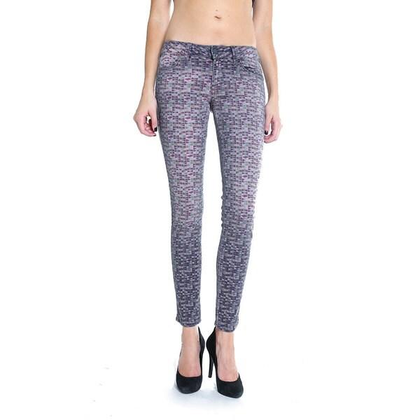 Siwy Women's 'Hannah' Multicolor Skinny Crop Jeans