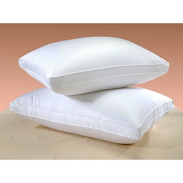 400 Thread Count Cotton Down Alternative Hypoallergenic Pillows (Set of 2)