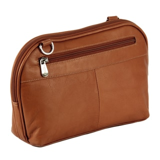 Piel Leather Cross Body Carry-All Travel Bag