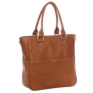 Piel Leather Carry-All Cross Body Tote Bag