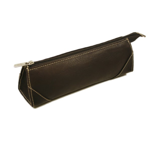 Piel Leather Brush Pencil Bag