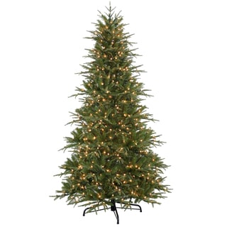 7.5-foot PowerConnect Northern Frasier Tree with Clear Lights