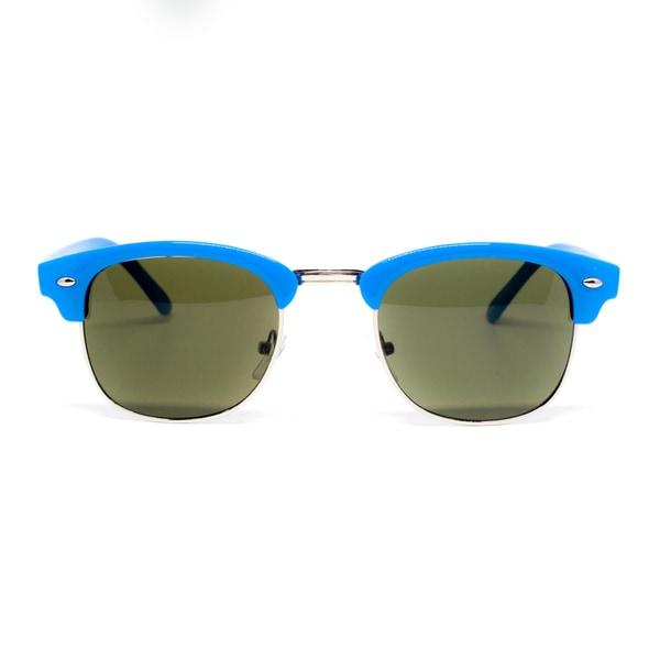 Epic Eyewear Designer Inspired Classic Horned Rim Half Frame Wayfarer Sunglasses