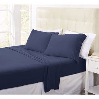 Home Fashion Designs Tribeca Collection Super Soft Luxury Jersey Sheet Set in Solid Colors