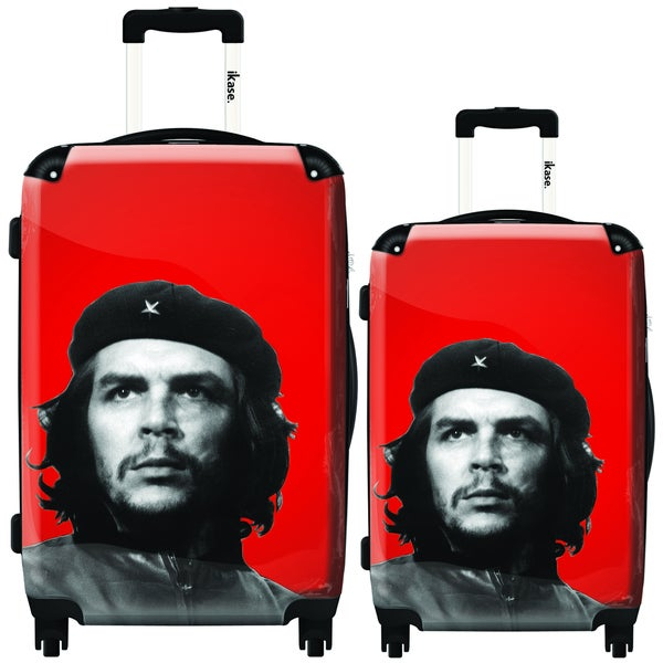 iKase 'The Che' 2-piece Hardside Spinner Luggage Set