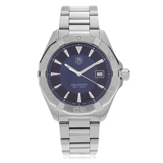 Tag Heuer Men's 'Aquaracer' WAY1112.BA0910 Dual Finish Link Watch