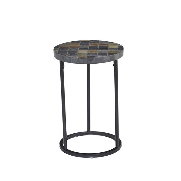 Home Styles Tables Laguna Outdoor Accent Table Black 5600-201