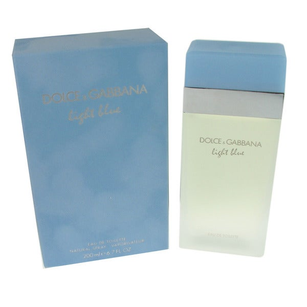 Dolce & Gabbana Light Blue Women's 6.7-ounce Eau de Toilette Spray