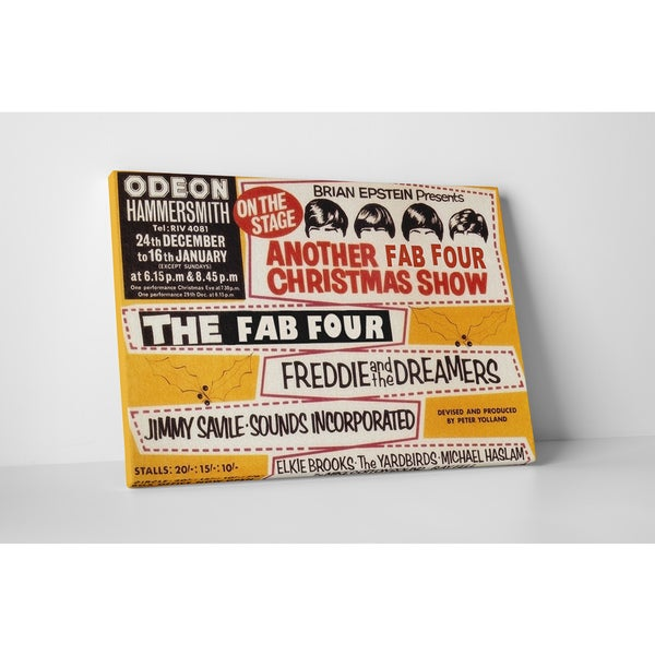 'The Fab Four' Gallery Wrapped Canvas Wall Art