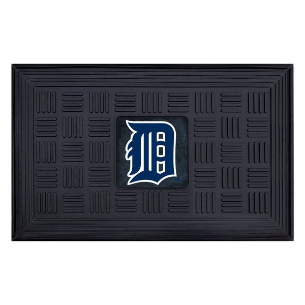 FANMATS MLB Detroit Tigers Medallion Door Mat