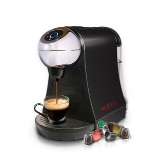 Lavica LAV-001AB Black Single-Serve Brewer for Nespresso Espresso/Tea Capsules