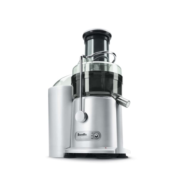 Breville JE98XL Silver Juice Fountain Plus 850-Watt Juice Extractor
