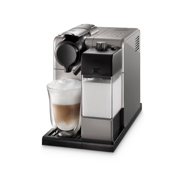 De'Longhi EN550S Silver Lattissima Touch Nespresso Single Serve Espresso Maker