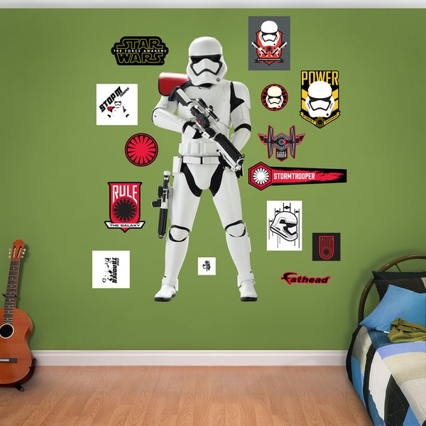 Fathead Star Wars: The Force Awakens Storm Trooper Wall Decal