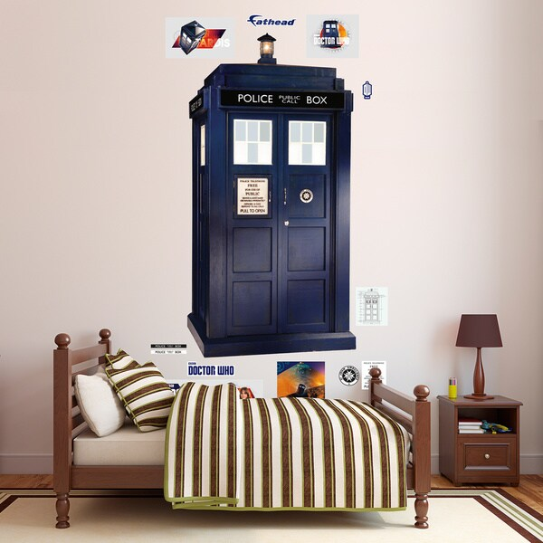 Fathead Dr. Who - Tardis Wall Decal