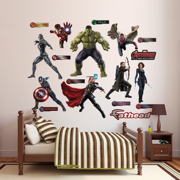 Fathead Avengers: Age of Ultron Wall Decals Collection