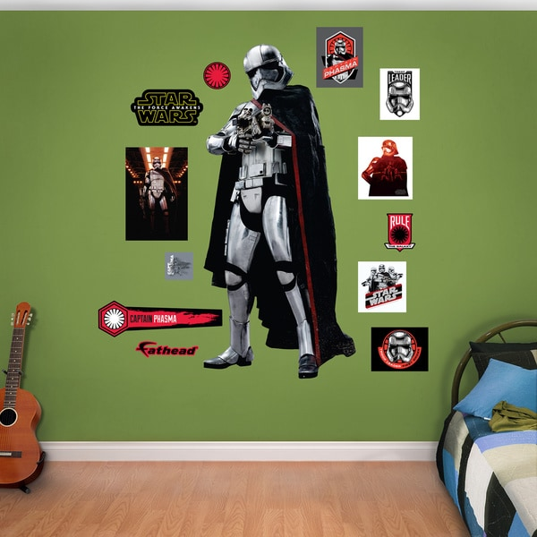 Fathead Star Wars Captain Phasma Wall Decal