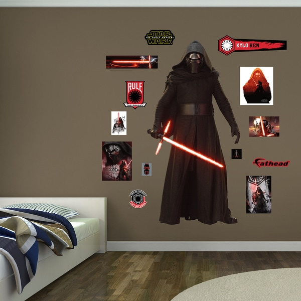 Fathead Star Wars Kylo Ren Wall Decal