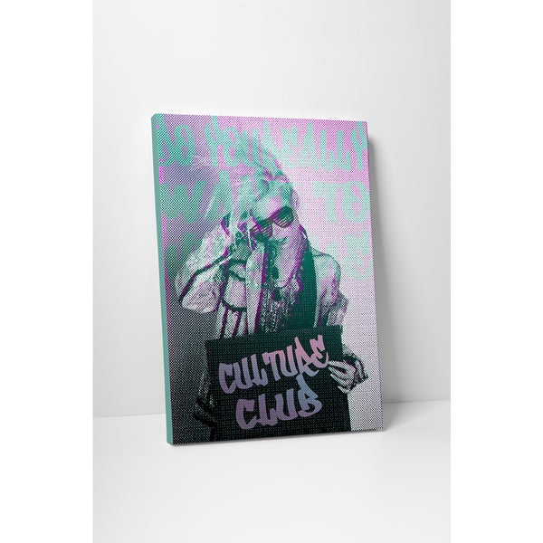 'Culture Club' Gallery Wrapped Canvas Wall Art