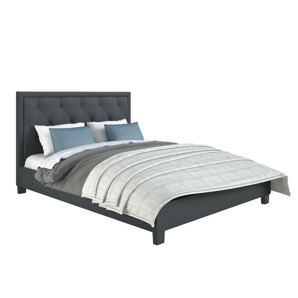 Fairfield Diamond Tufted Upholstered Queen Bed