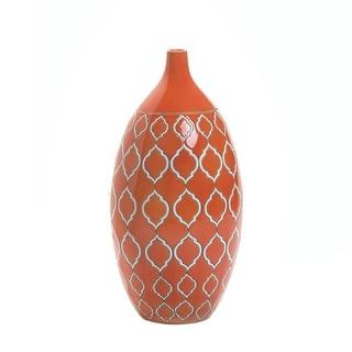 Moroccan Orange Vase