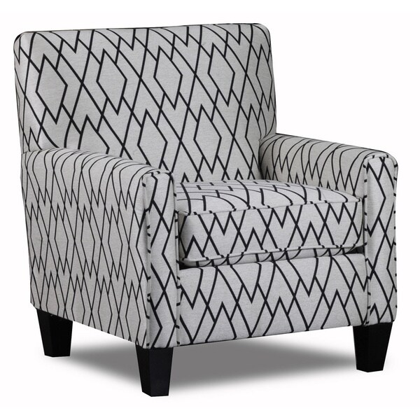 The Wellington Accent Chair- Facet Ivory