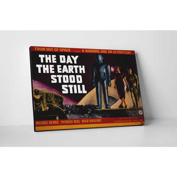 'The Day the Earth Stood Still' Gallery Wrapped Canvas Wall Art