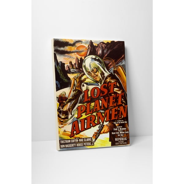 'Lost Planet Airmen' Gallery Wrapped Canvas Wall Art