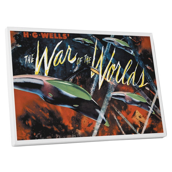 'The War of the Worlds' Gallery Wrapped Canvas Wall Art