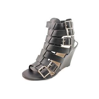 Vince Camuto Women's 'Martez' Leather Wedges Sandals