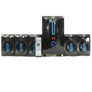 Blue Octave B52 Home Theater 5.1 Bluetooth Speaker System 700W with Powered Sub and FM Tuner