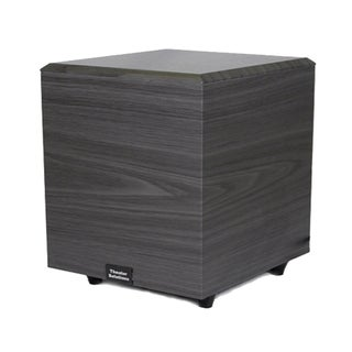 Theater Solutions Black SUB6D Down Firing Powered Subwoofer