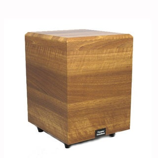 Theater Solutions Mahogany SUB6DM Down Firing Powered Subwoofer