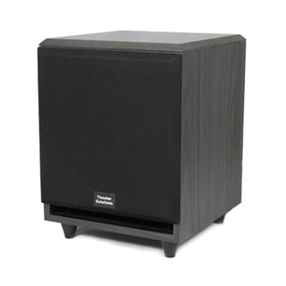 Theater Solutions Black SUB6F Front Firing Powered Subwoofer